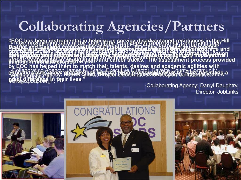 Collaborating Agencies/Partners