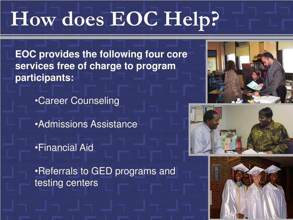 How does EOC Help?