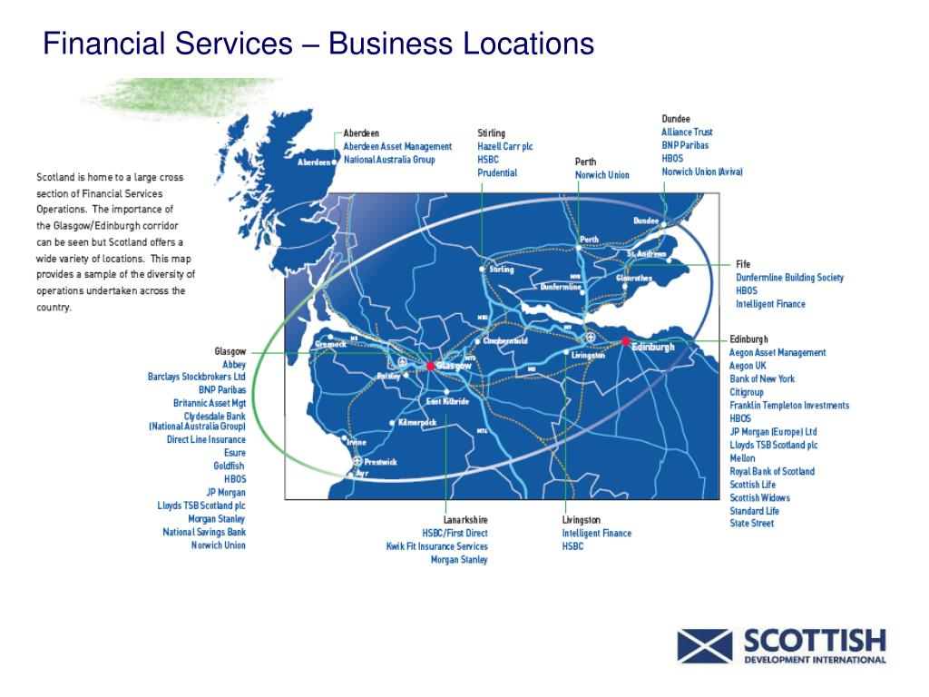 Financial Services – Business Locations