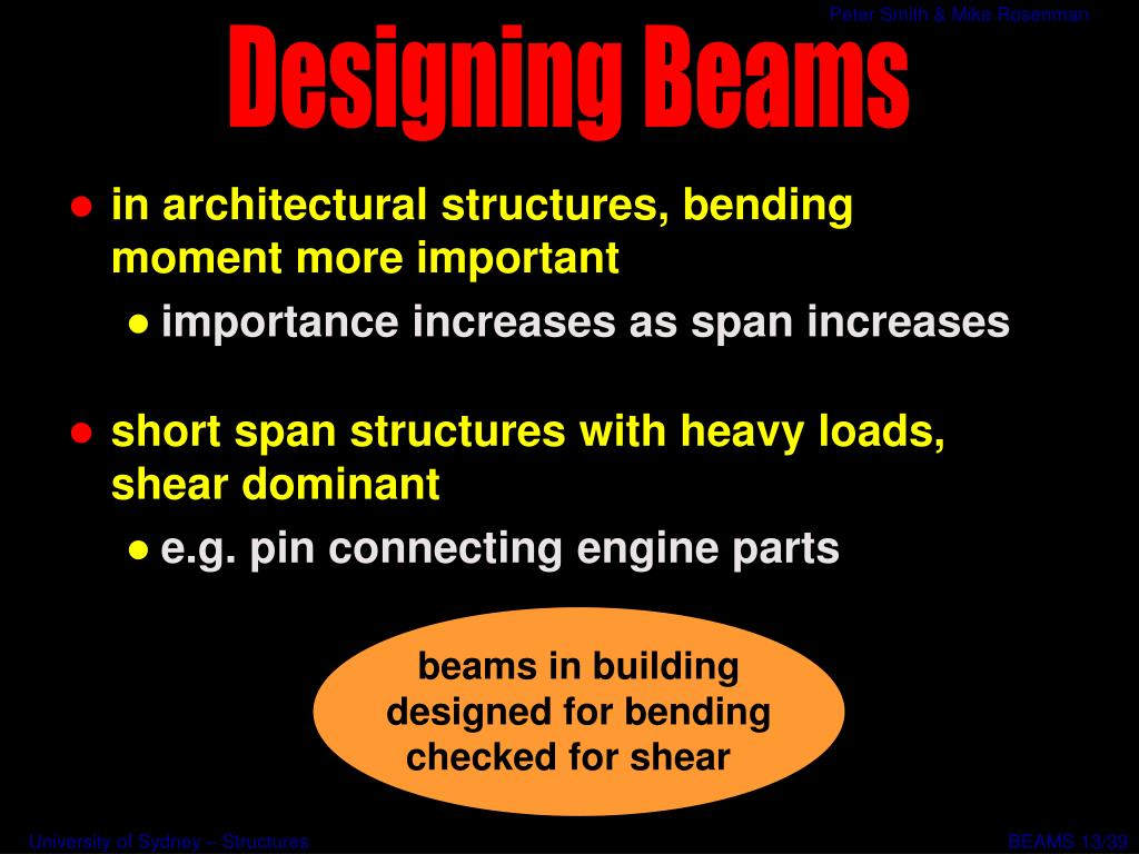 beams in building