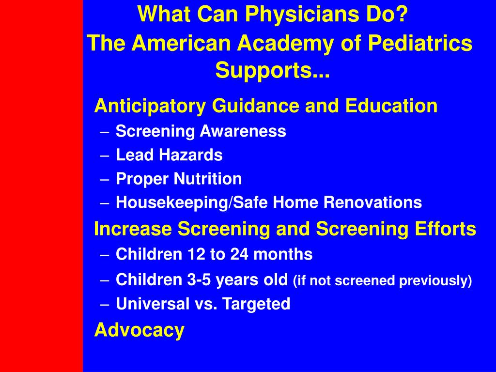 What Can Physicians Do?