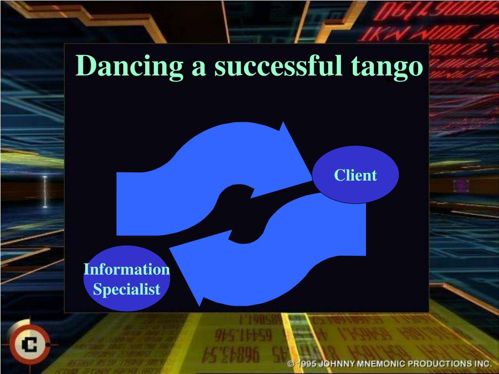 Dancing a successful tango