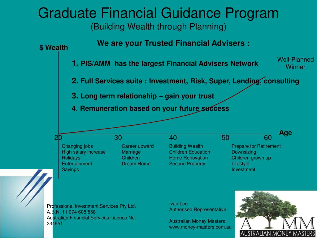 We are your Trusted Financial Advisers :