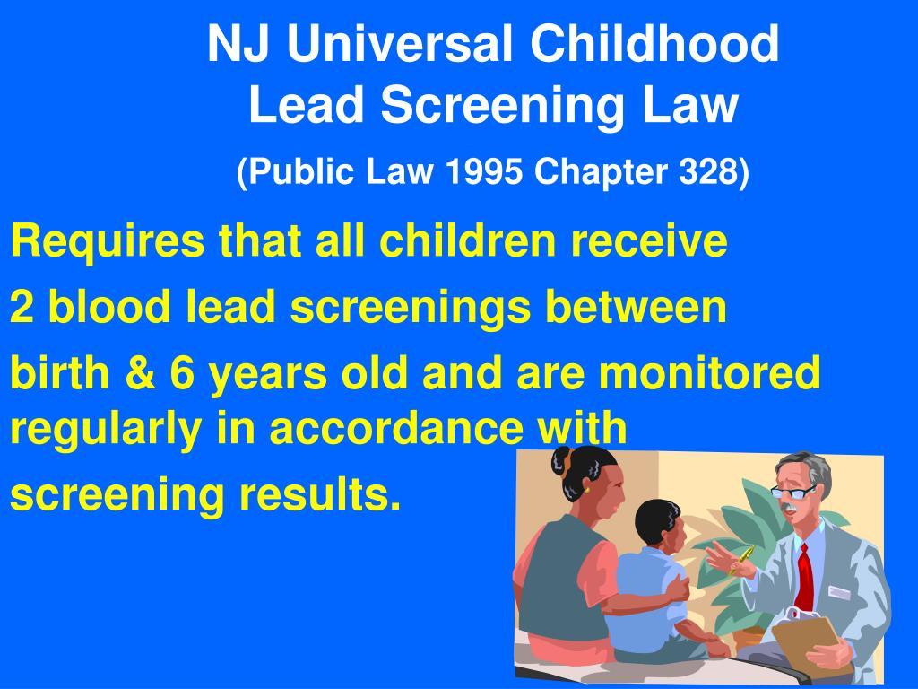 NJ Universal Childhood