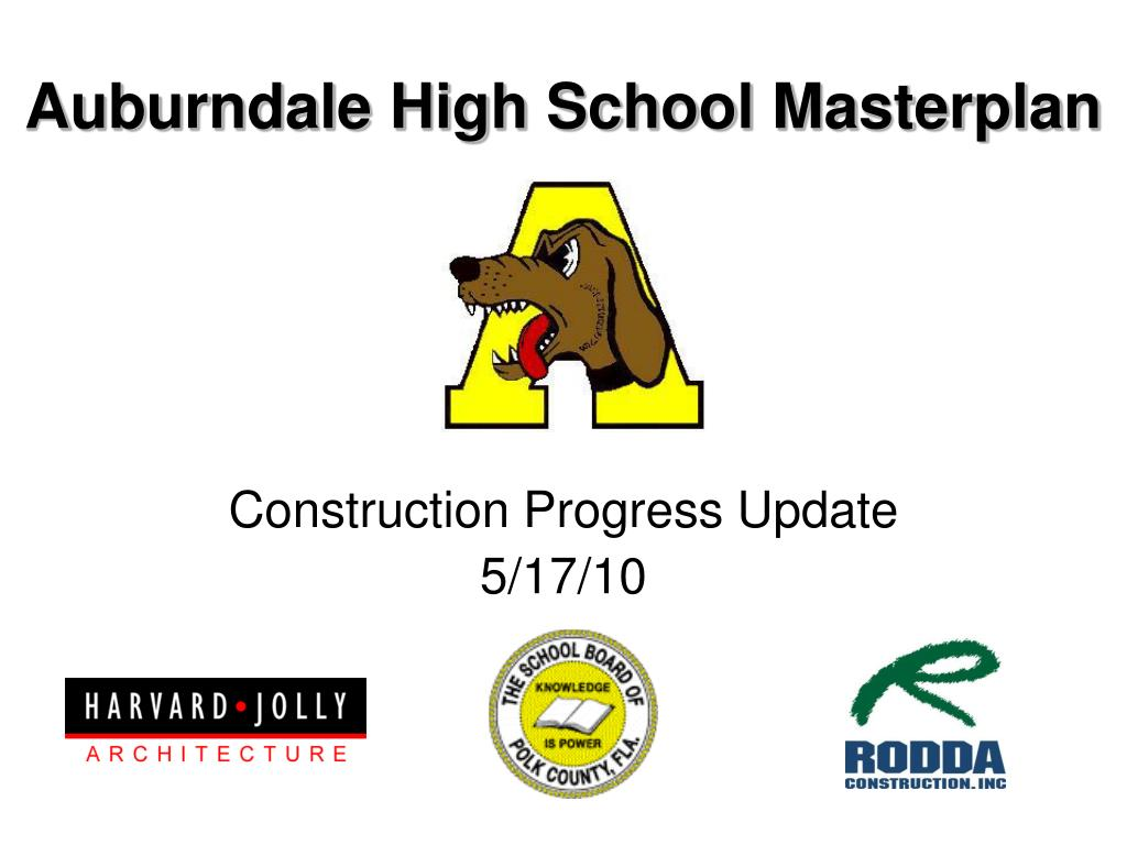 Auburndale High School Masterplan