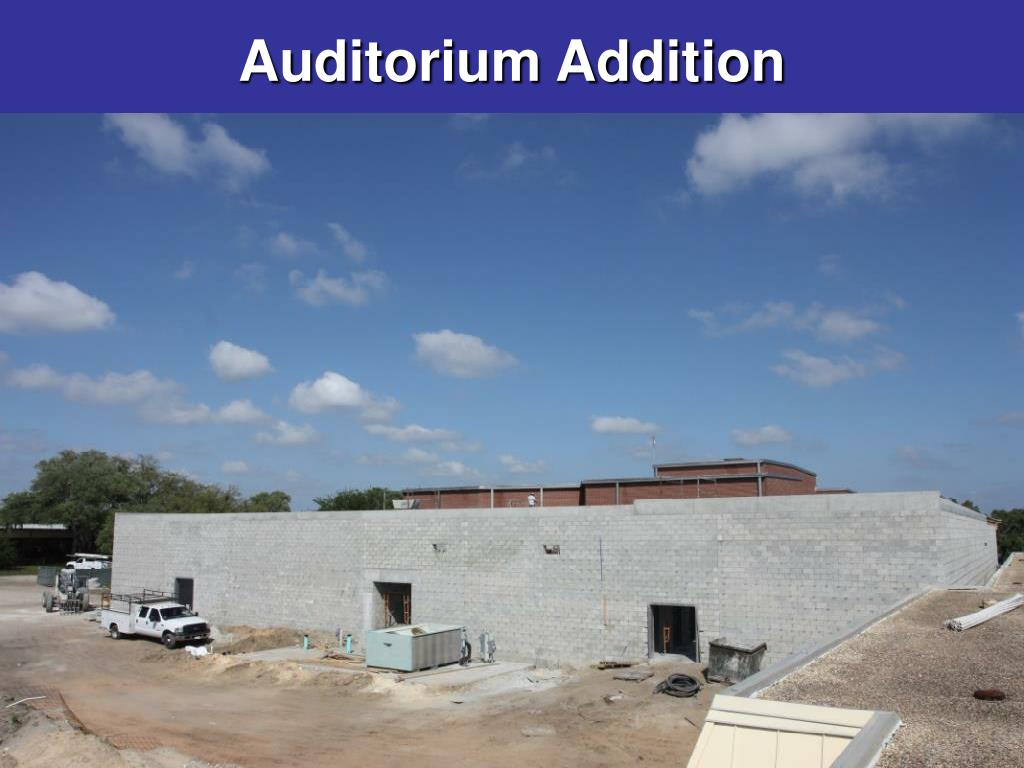 Auditorium Addition