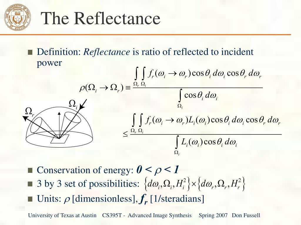 The Reflectance