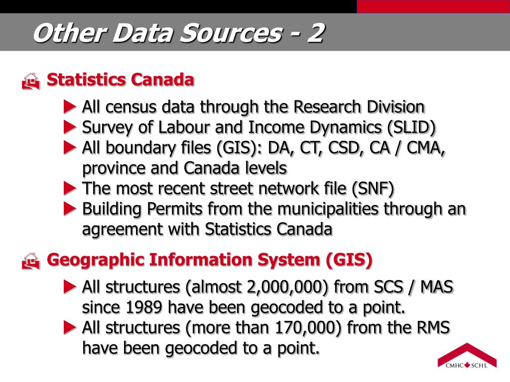 Other Data Sources - 2