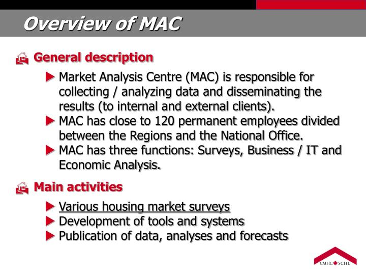 Overview of MAC