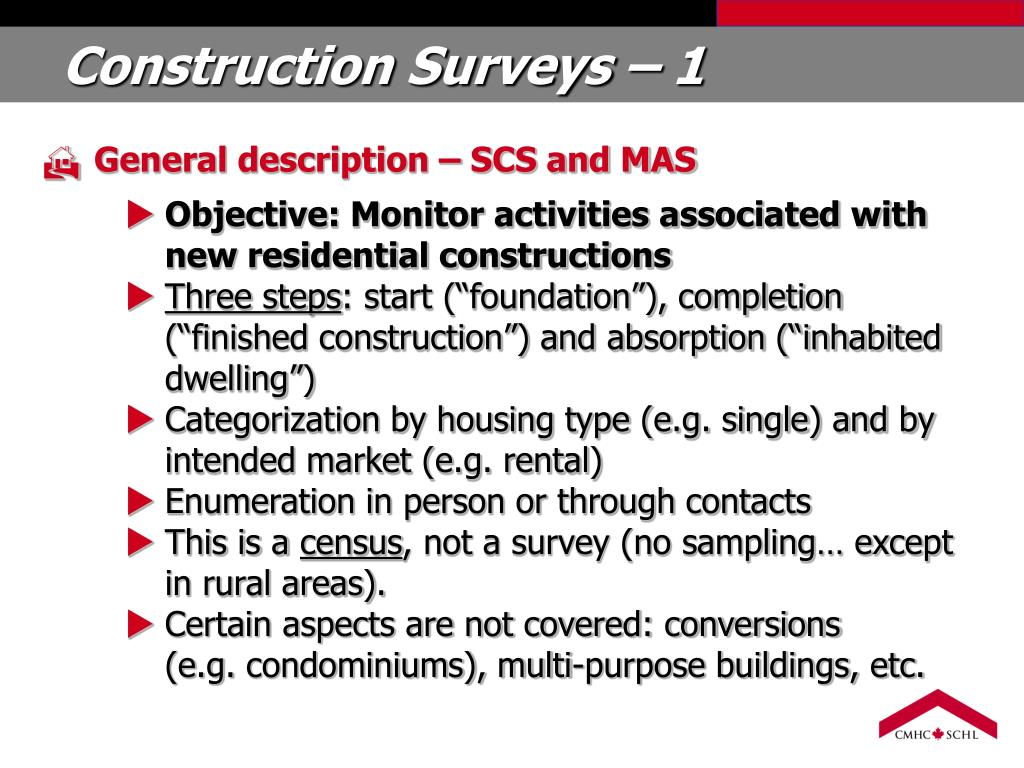 Construction Surveys – 1