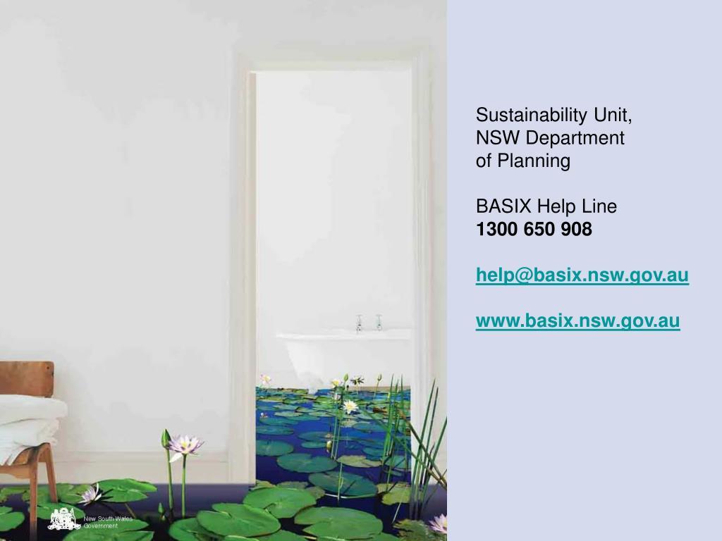 Sustainability Unit,
