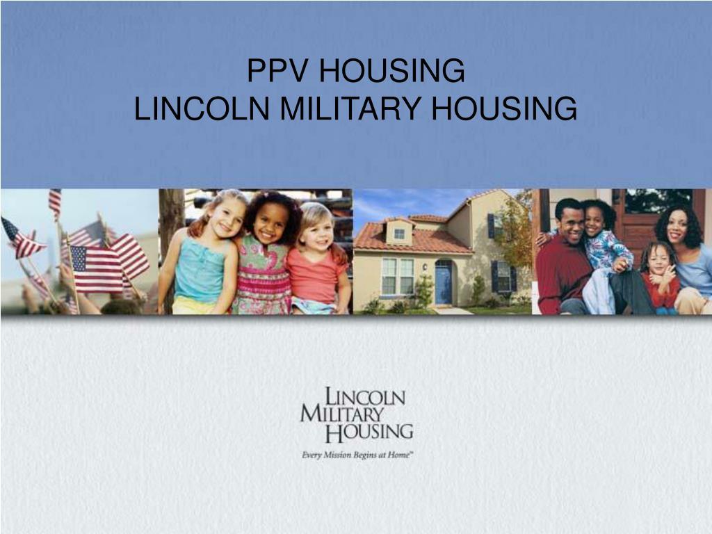 PPV HOUSING