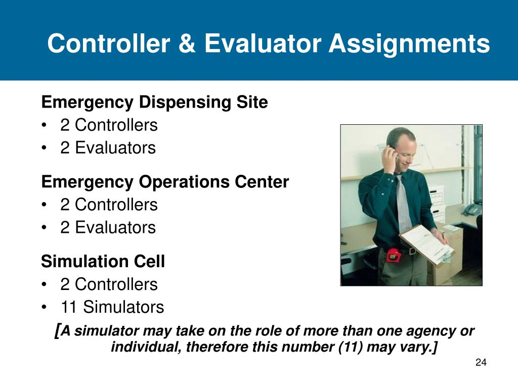 Controller & Evaluator Assignments
