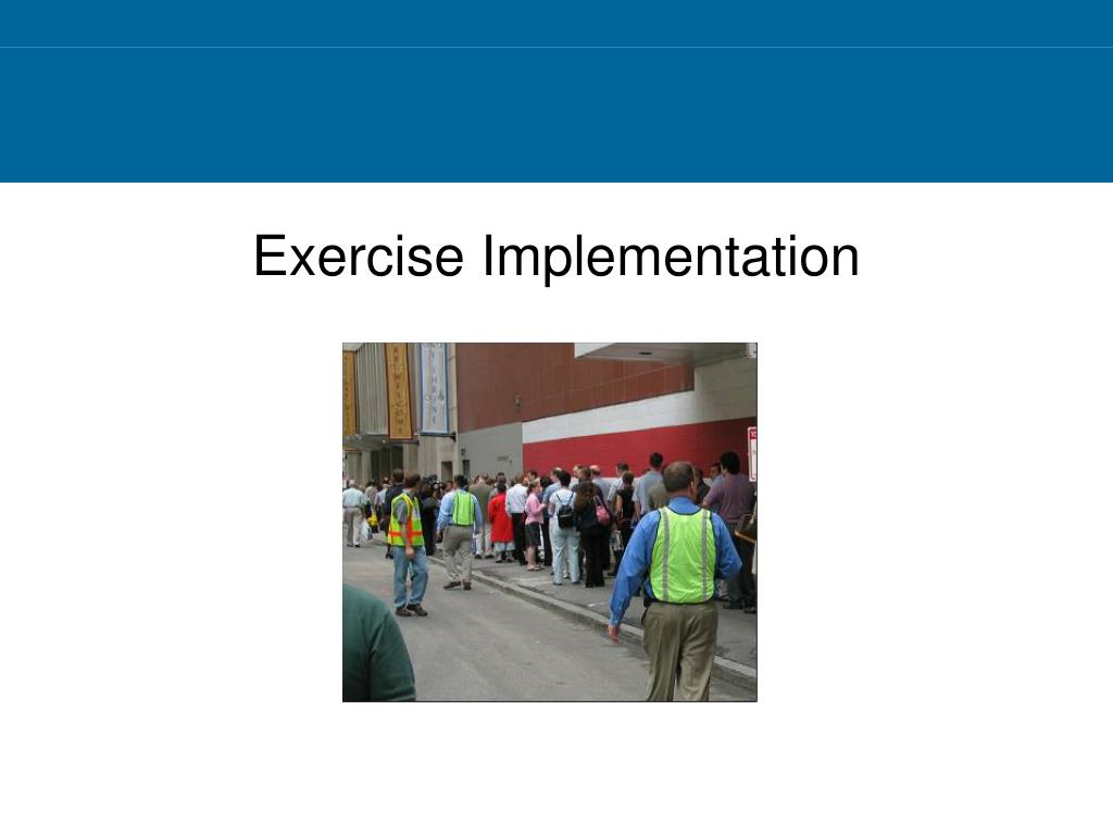 Exercise Implementation