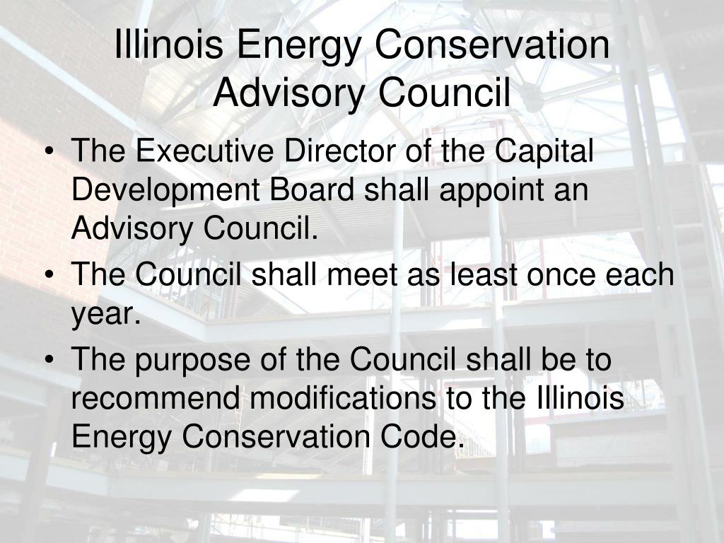 Illinois Energy Conservation Advisory Council