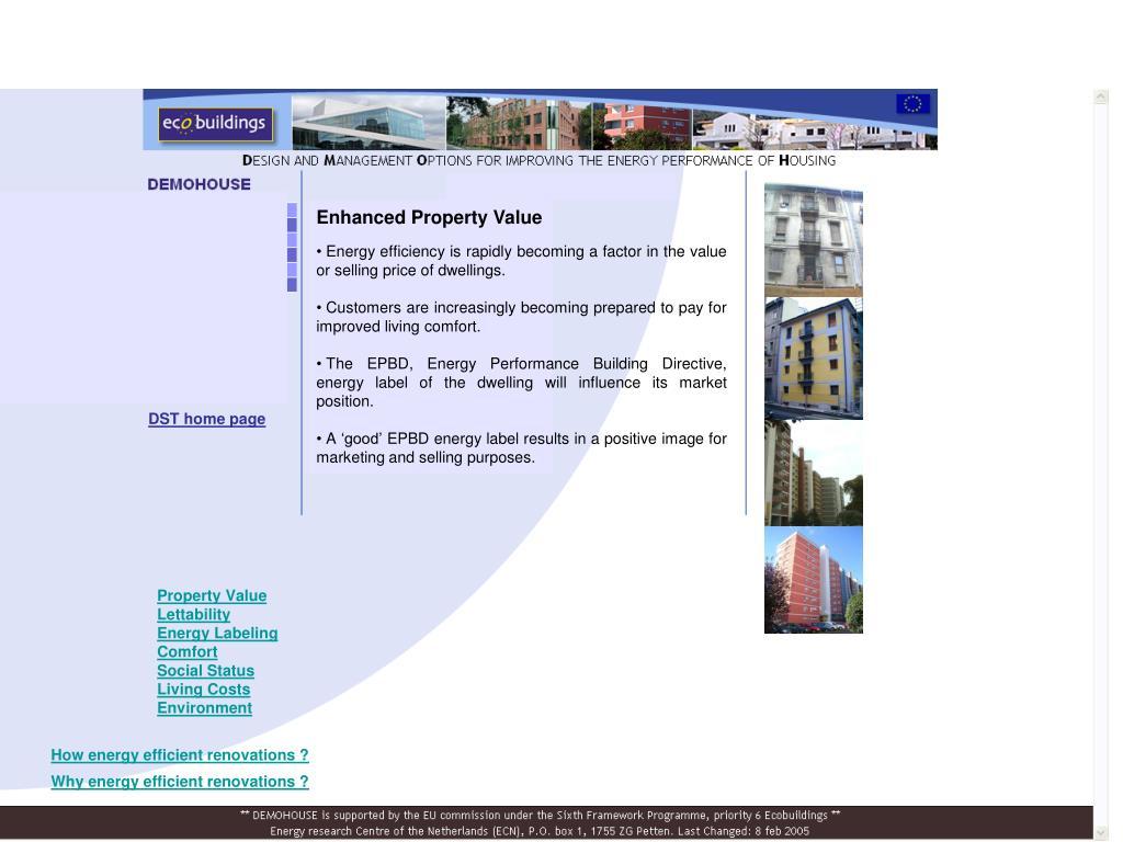 Enhanced Property Value
