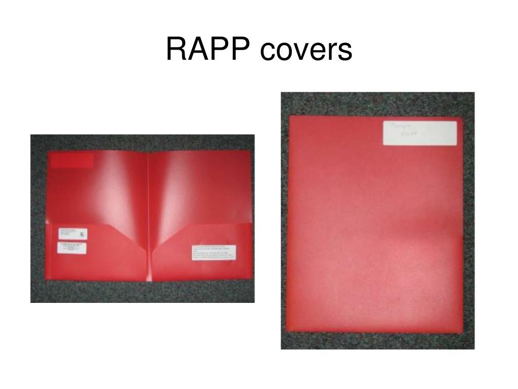 RAPP covers