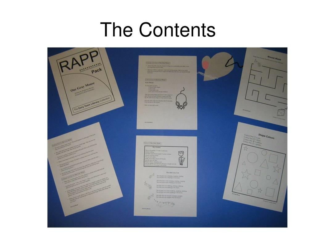 The Contents