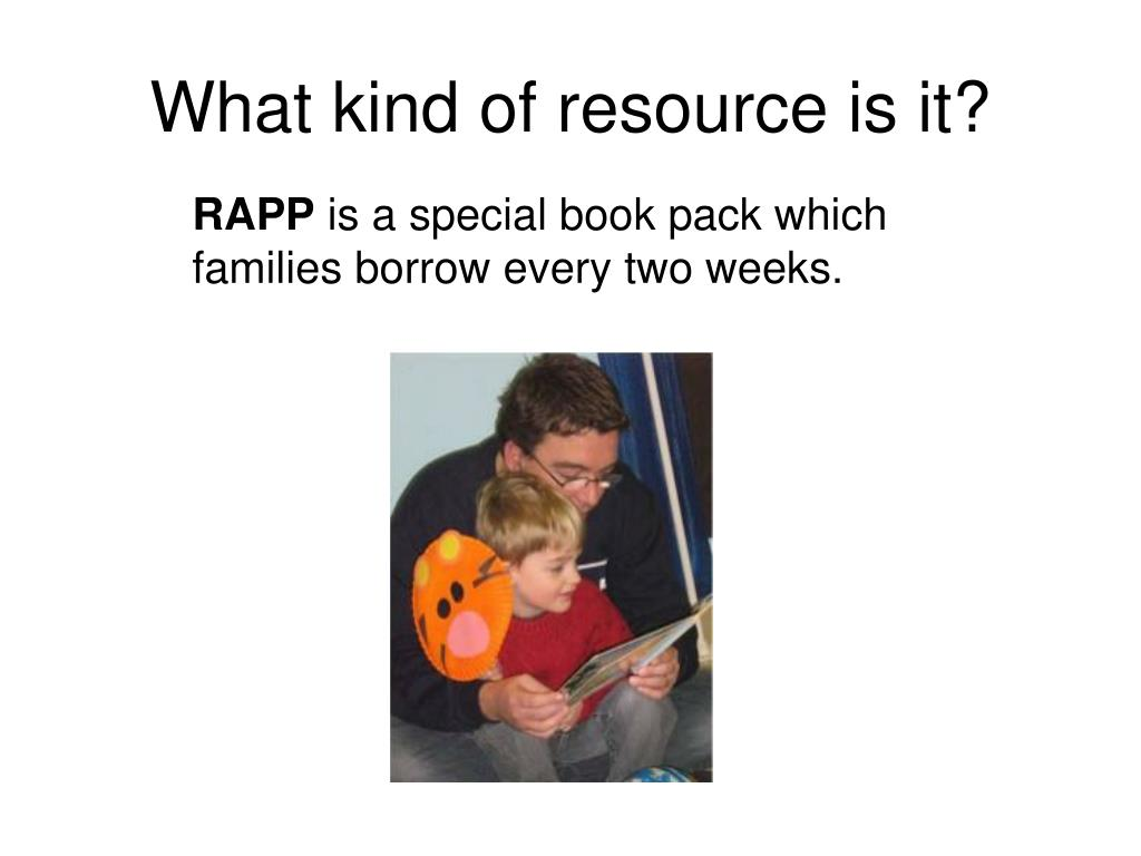 What kind of resource is it?