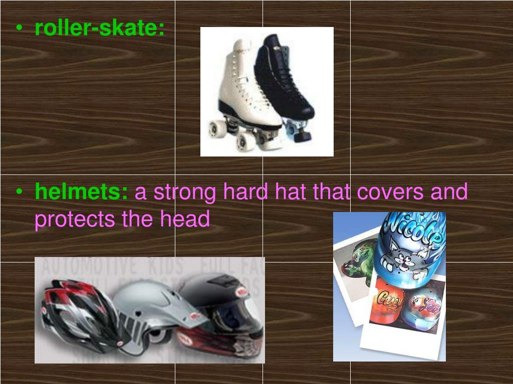 roller-skate: