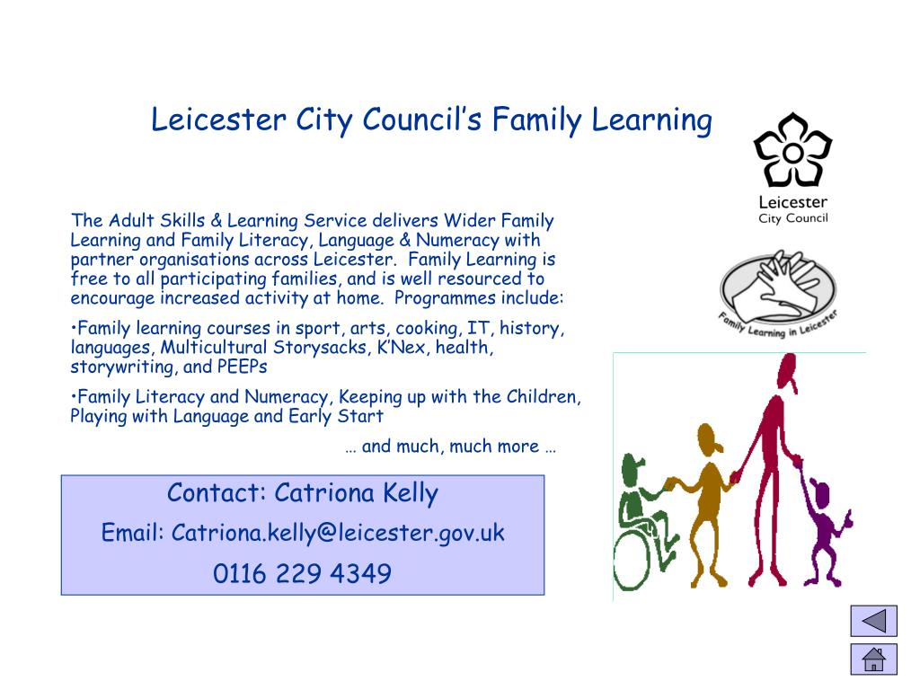 Leicester City Council's Family Learning