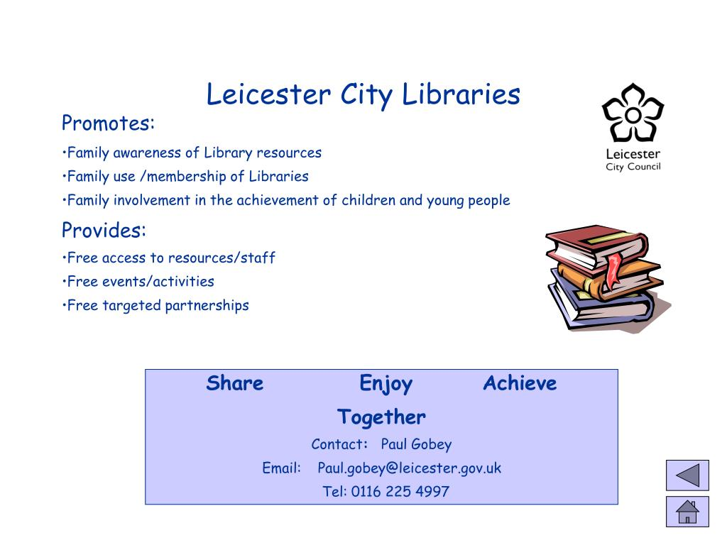 Leicester City Libraries