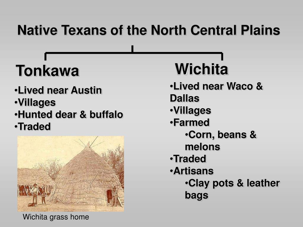 Native Texans of the North Central Plains