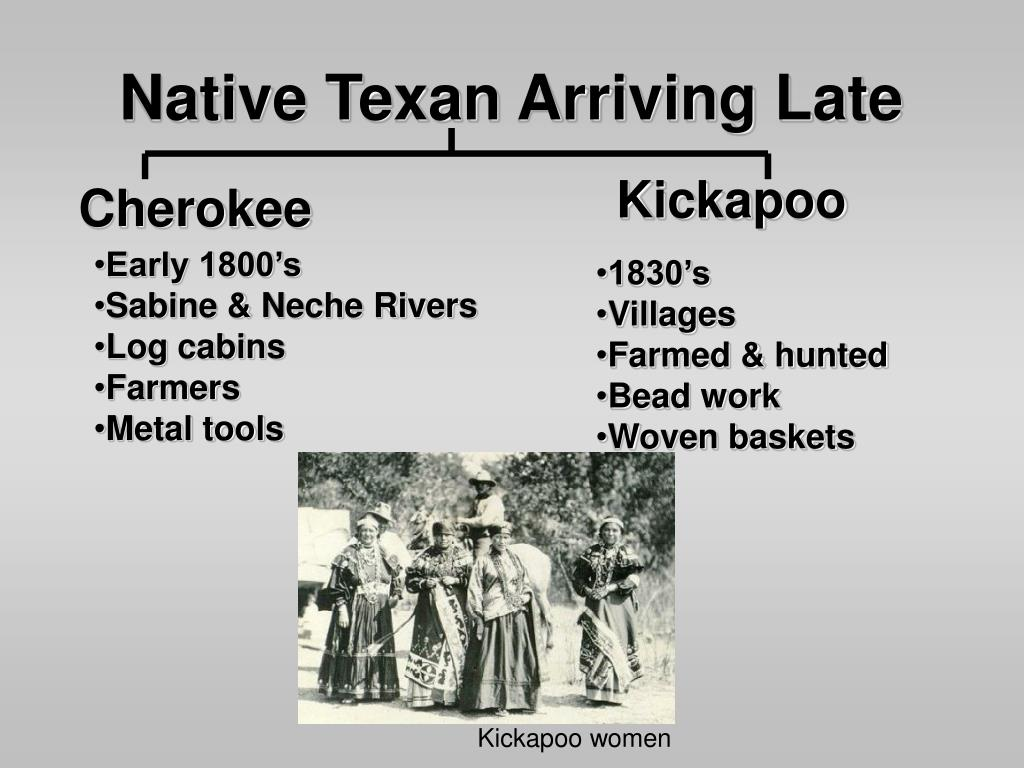 Native Texan Arriving Late