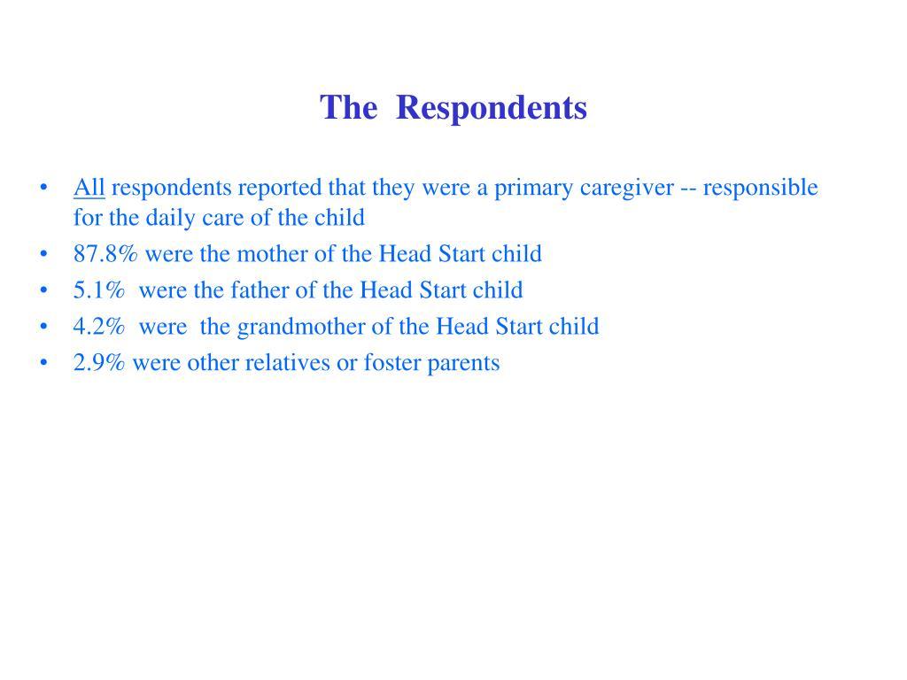 The  Respondents