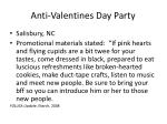 anti valentines day party