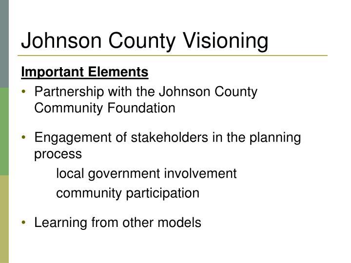 Johnson County Visioning