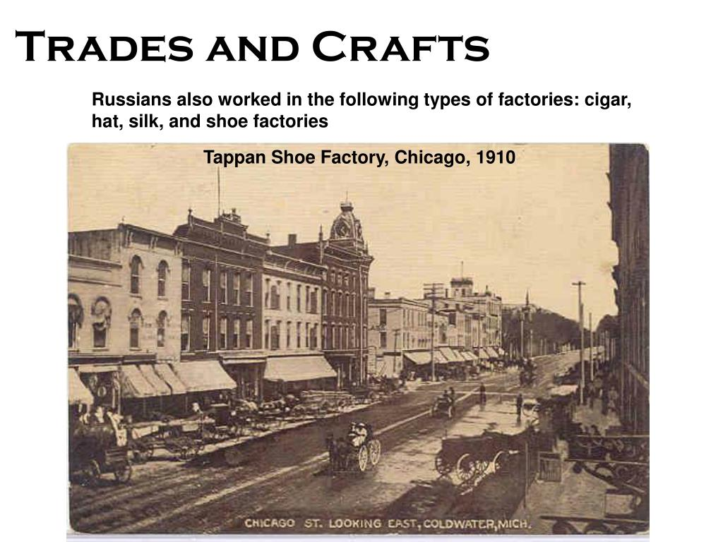 Tappan Shoe Factory, Chicago, 1910