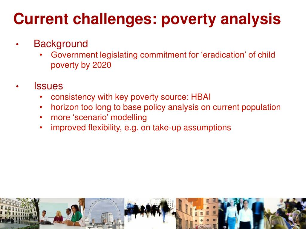 Current challenges: poverty analysis