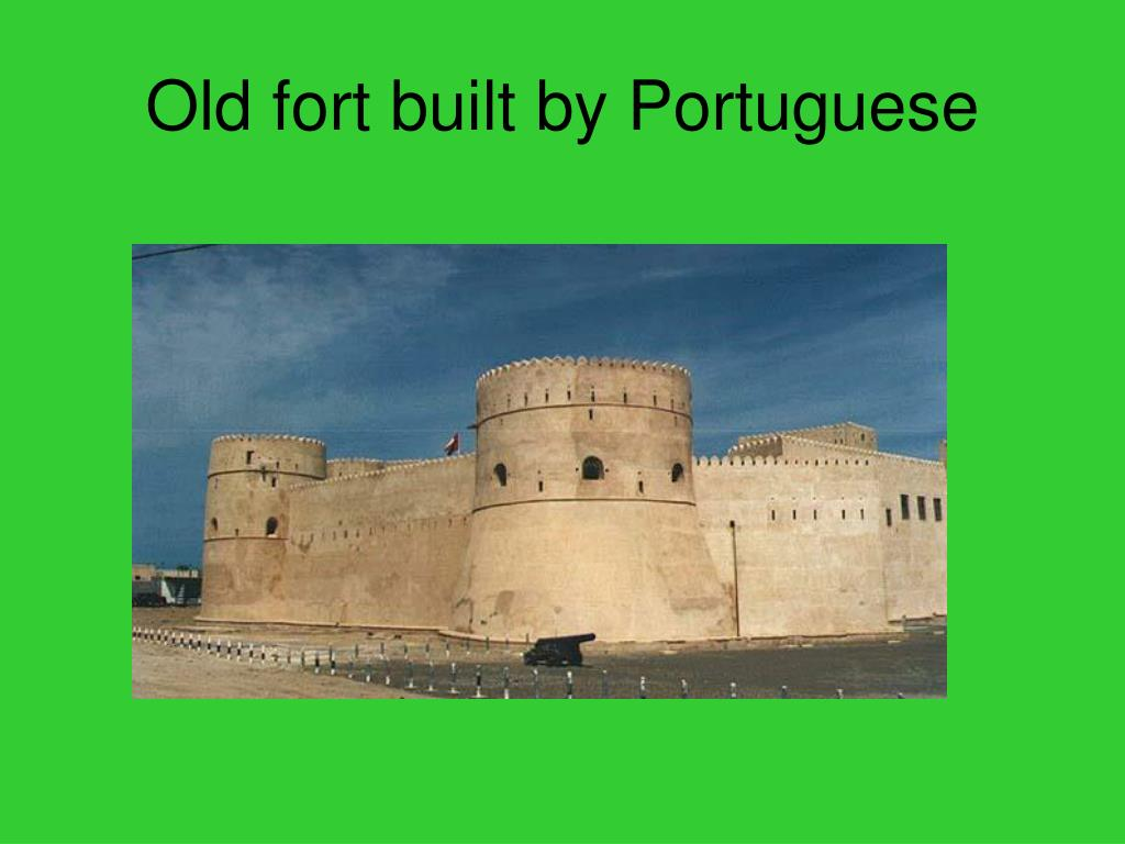 Old fort built by Portuguese