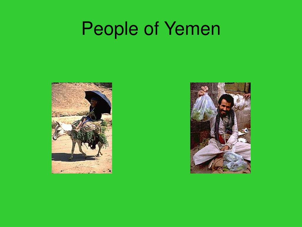 People of Yemen