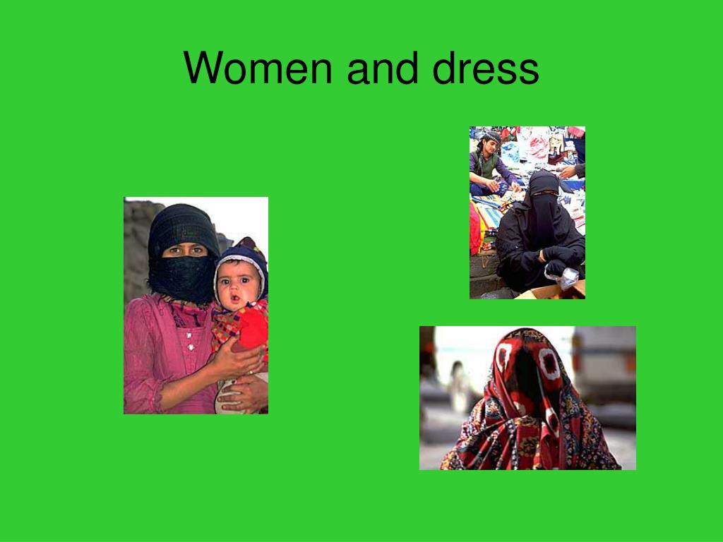 Women and dress