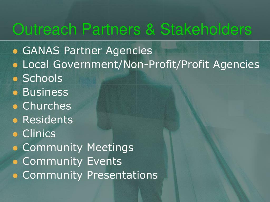 Outreach Partners & Stakeholders