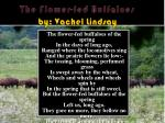 the flower fed buffaloes by vachel lindsay