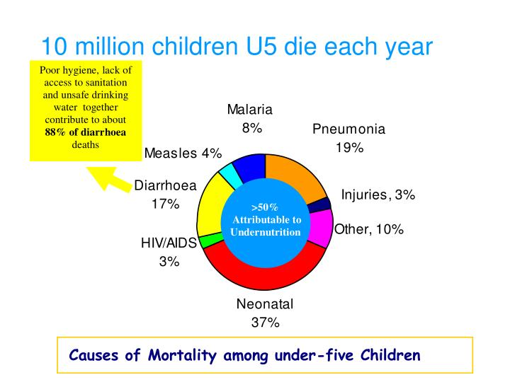 10 million children u5 die each year l.jpg