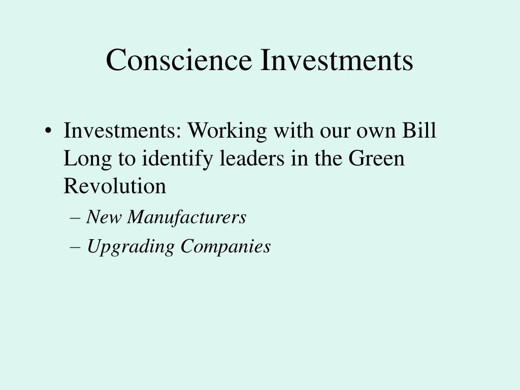 Conscience Investments