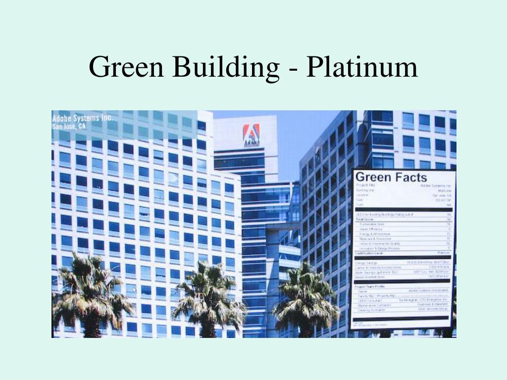 Green Building - Platinum