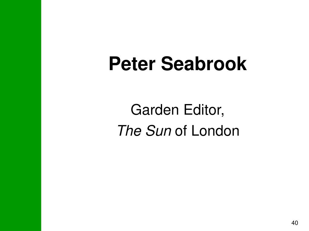 Peter Seabrook