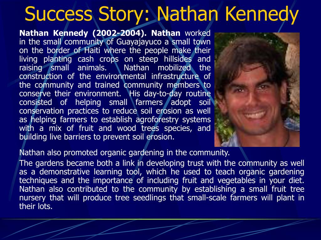 Success Story: Nathan Kennedy