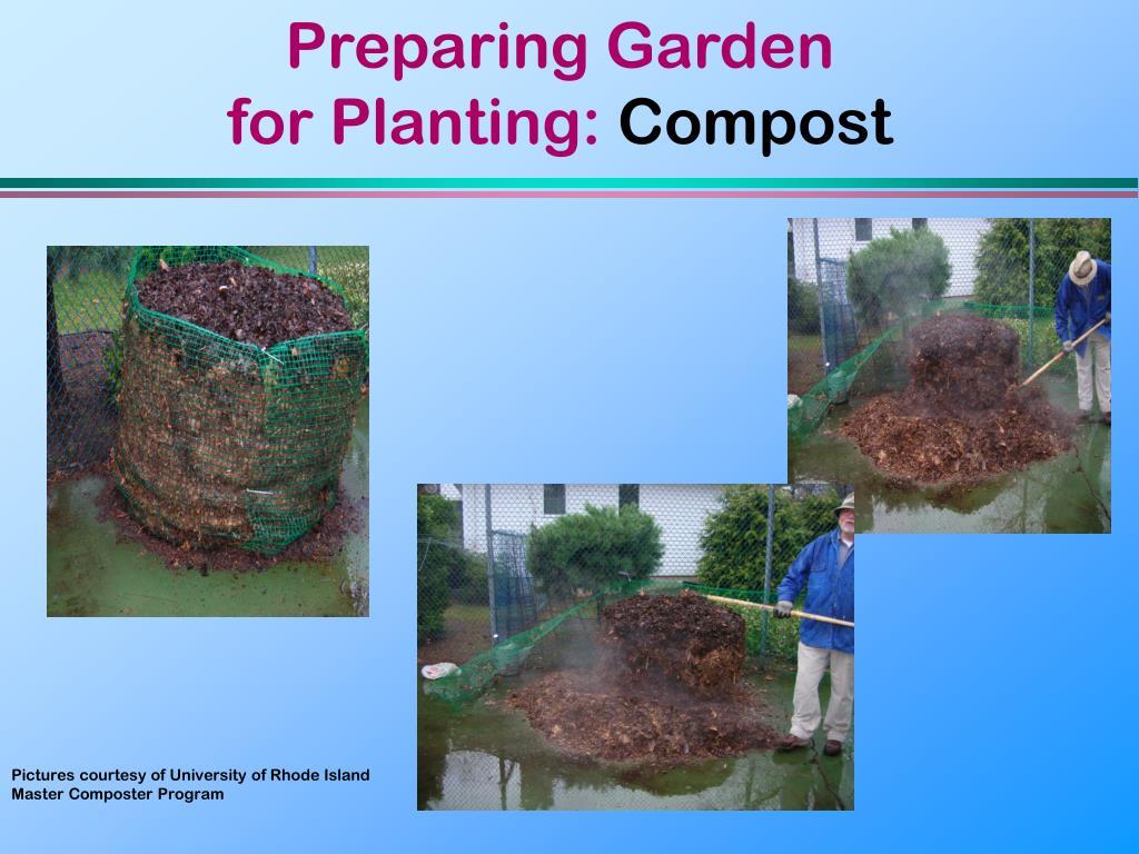 Preparing Garden