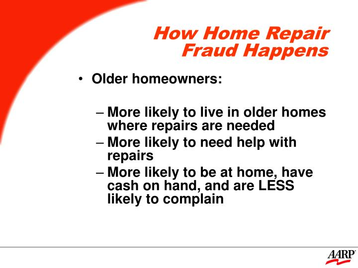 How home repair fraud happens