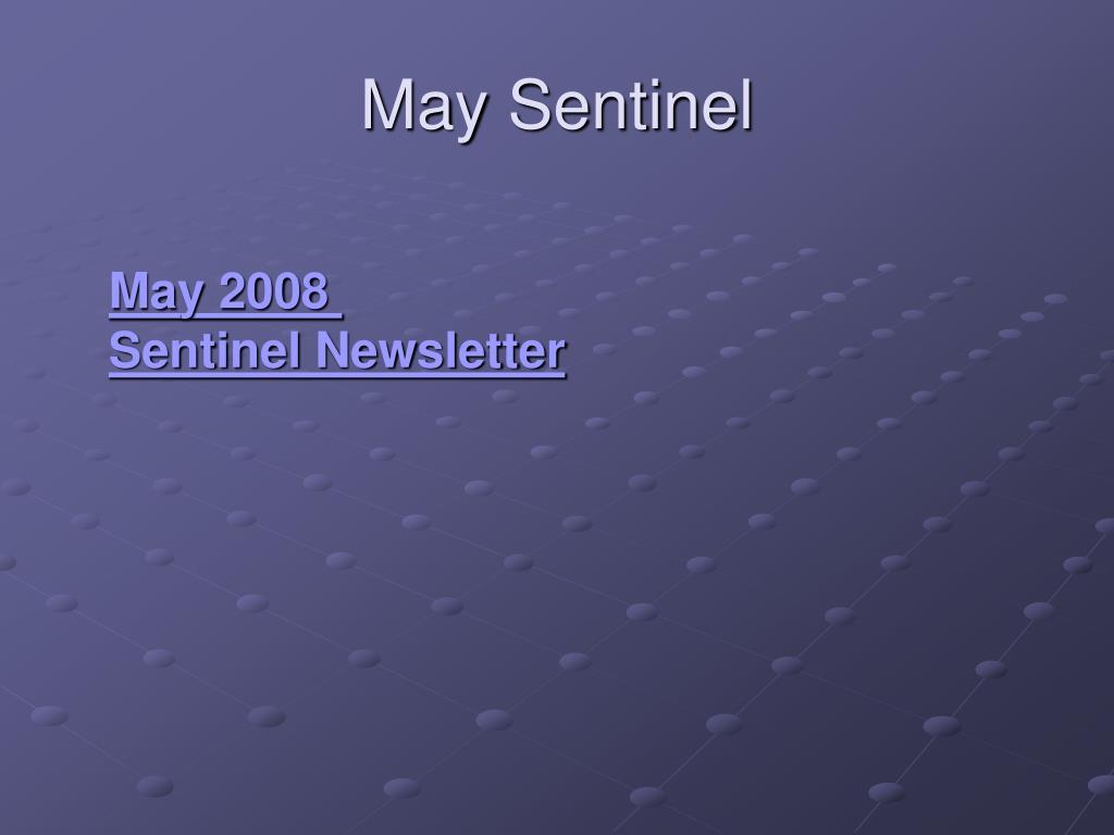 May Sentinel