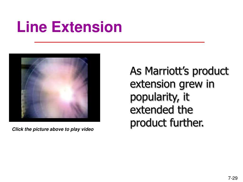 Line Extension