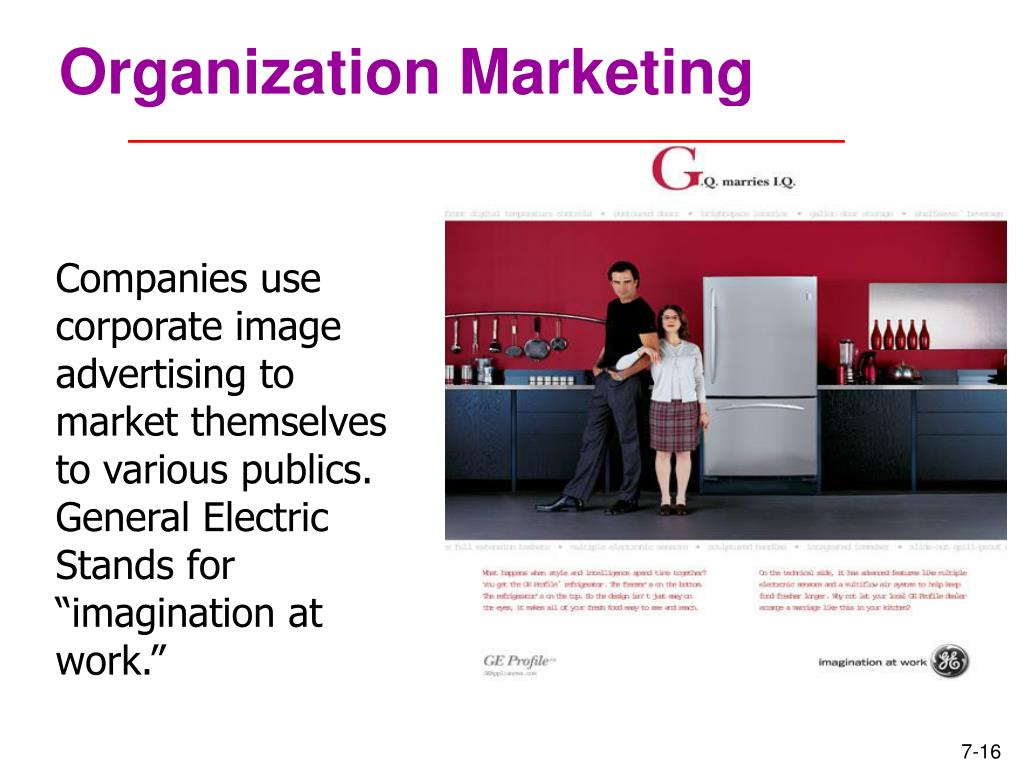 Organization Marketing