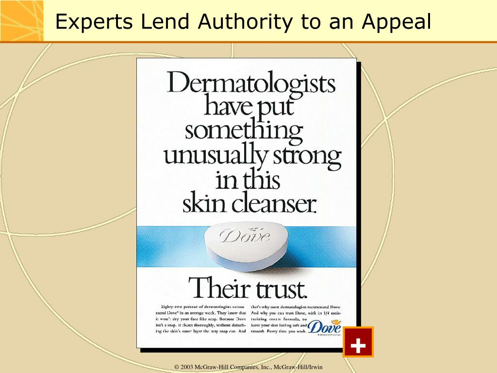 Experts Lend Authority to an Appeal