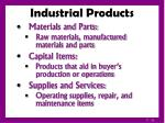 industrial products11